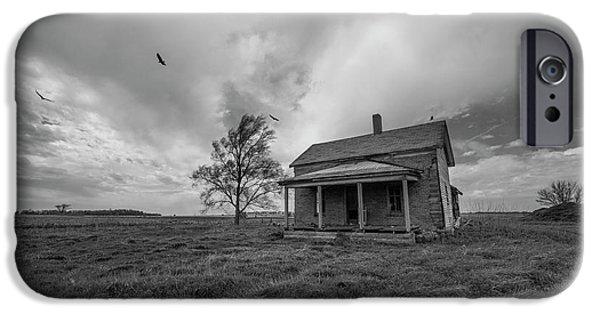 Vulture iPhone 6s Case - Follow The Buzzards by Aaron J Groen