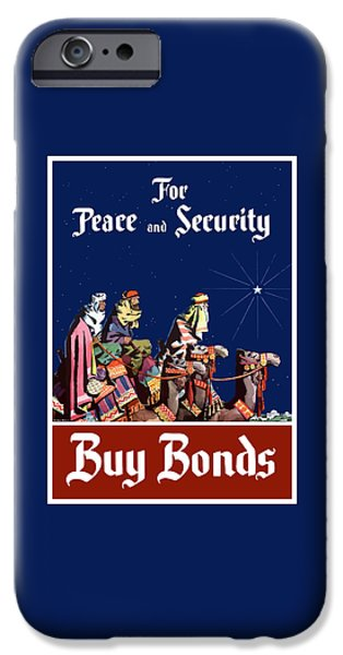 Camel iPhone 6s Case - For Peace And Security - Buy Bonds by War Is Hell Store