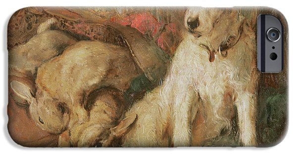 Fox Terrier With The Day's Bag IPhone 6s Case by English School