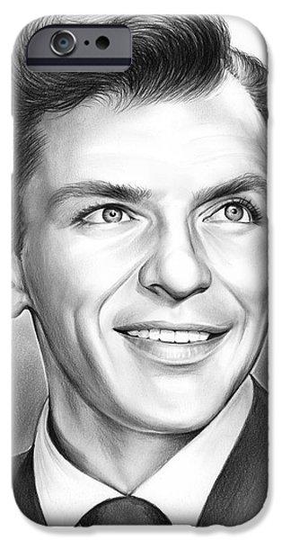 Frank Sinatra IPhone 6s Case by Greg Joens