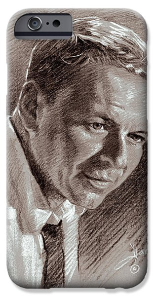 Frank Sinatra  IPhone 6s Case by Ylli Haruni