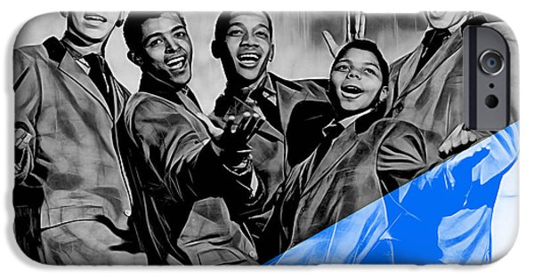 Frankie Lymon And The Teenagers IPhone 6s Case by Marvin Blaine