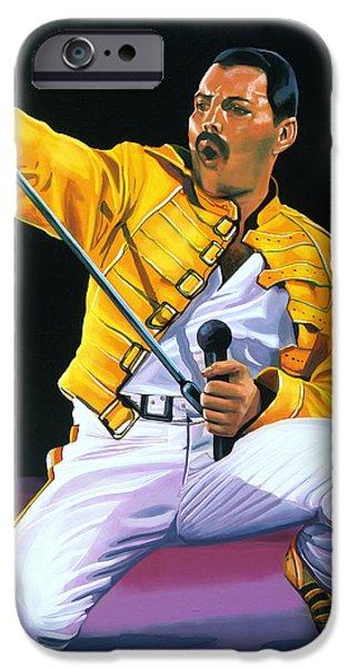 Freddie Mercury Live IPhone 6s Case by Paul Meijering