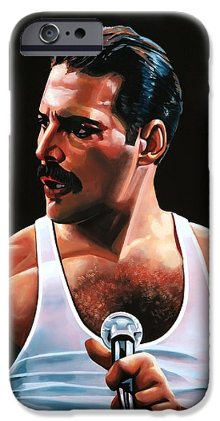 Barcelona iPhone 6s Case - Freddie Mercury by Paul Meijering