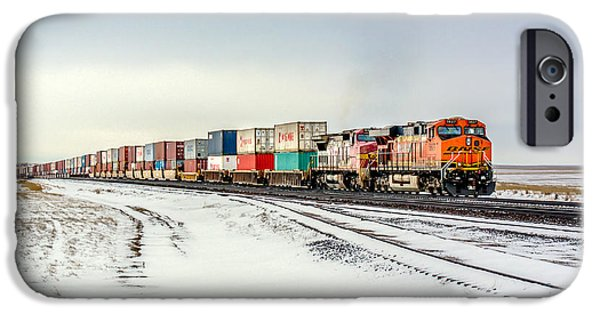 Train iPhone 6s Case - Freight Train by Todd Klassy
