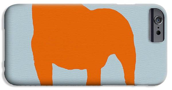 Dog iPhone 6s Case - French Bulldog Orange by Naxart Studio