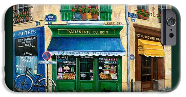 Universities iPhone 6s Case - French Pastry Shop by Marilyn Dunlap