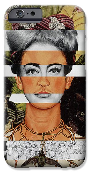 Frida Kahlo And Joan Crawford IPhone 6s Case by Luigi Tarini