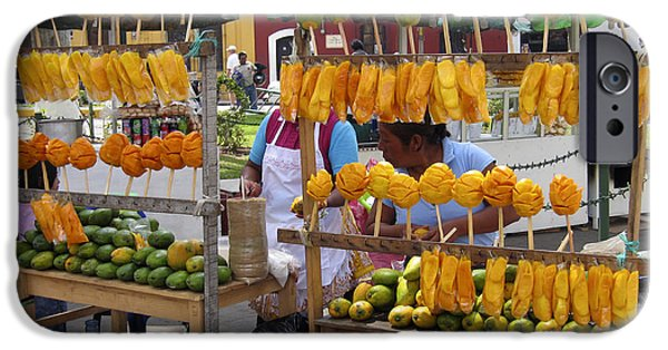 Fruit Stand Antigua  Guatemala IPhone 6s Case by Kurt Van Wagner