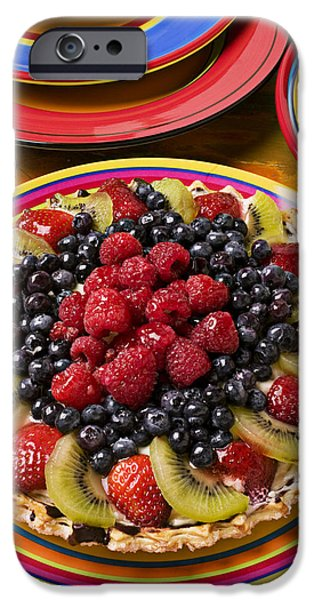 Fruit Tart Pie IPhone 6s Case by Garry Gay