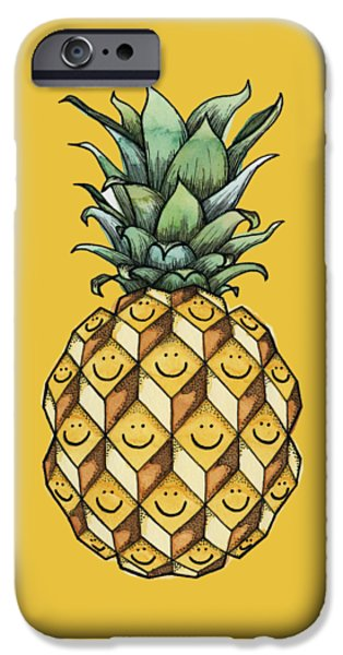 Pineapple iPhone 6s Case - Fruitful by Kelly Jade King