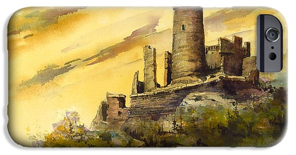 Castle iPhone 6s Case - Furstenburg On The Rhine by Sam Sidders