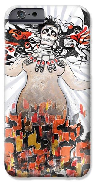 Dolphin iPhone 6s Case - Gaia In Turmoil by Sassan Filsoof