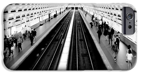 Train iPhone 6s Case - Gallery Place Metro by Thomas Marchessault