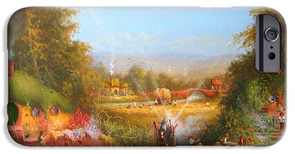 Gandalf's Return Fireworks In The Shire. IPhone 6s Case by Joe  Gilronan