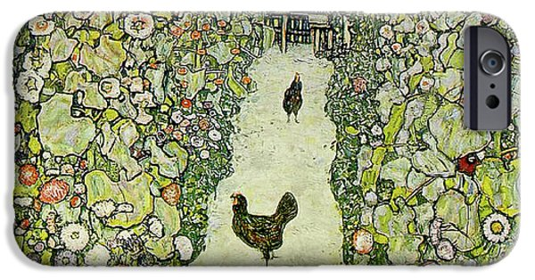 Garden With Chickens IPhone 6s Case