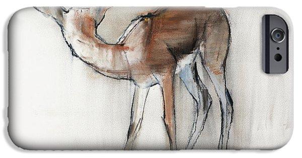 Gazelle Fawn  Arabian Gazelle IPhone 6s Case by Mark Adlington