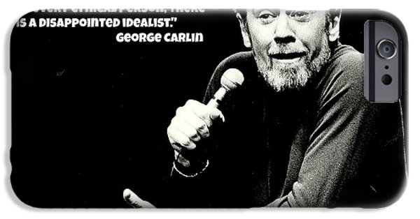 George Carlin Art  IPhone 6s Case by Pd