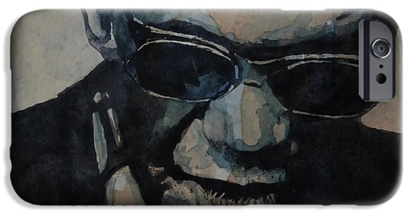 Rock And Roll iPhone 6s Case - Georgia On My Mind - Ray Charles  by Paul Lovering