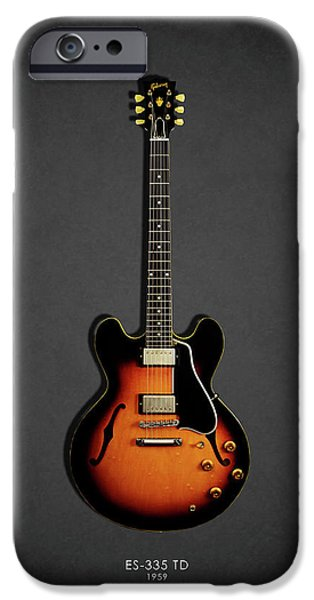 Jazz iPhone 6s Case - Gibson Es 335 1959 by Mark Rogan