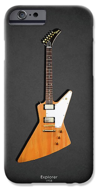 Guitar iPhone 6s Case - Gibson Explorer 1958 by Mark Rogan