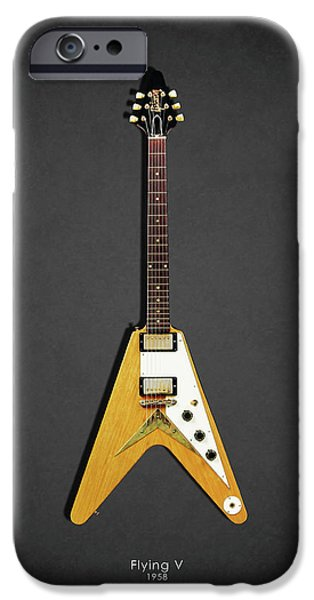 Guitar iPhone 6s Case - Gibson Flying V by Mark Rogan