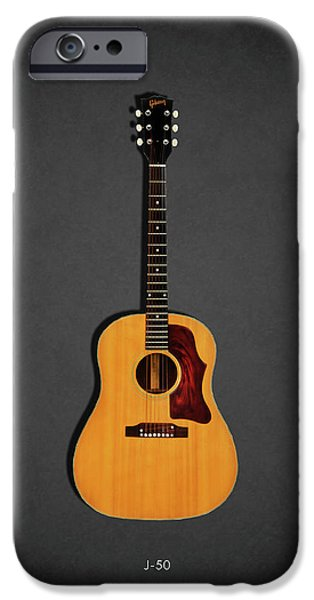 Jazz iPhone 6s Case - Gibson J-50 1967 by Mark Rogan