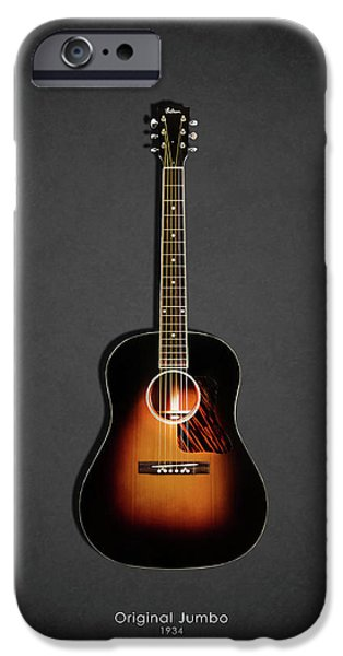 Guitar iPhone 6s Case - Gibson Original Jumbo 1934 by Mark Rogan