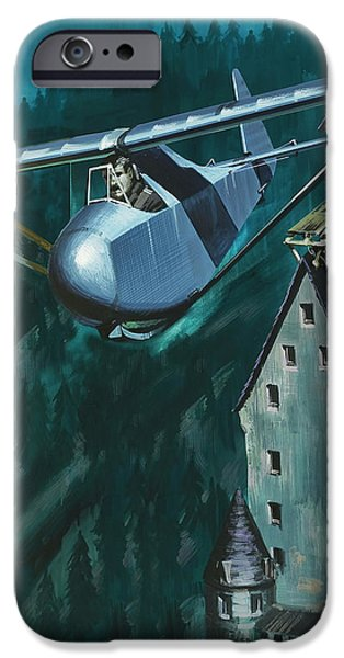 Glider Escape From Colditz Castle IPhone 6s Case by Wilf Hardy