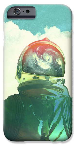 Space iPhone 6s Case - God Is An Astronaut by Fran Rodriguez