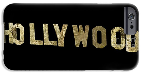 Beverly Hills iPhone 6s Case - Gold Hollywood Sign by Mindy Sommers