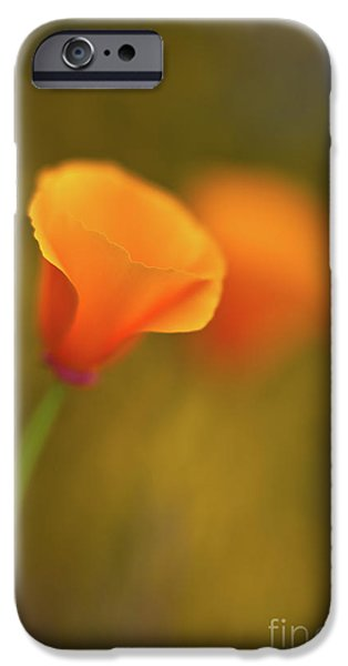 Golden Edges IPhone Case by Mike Reid