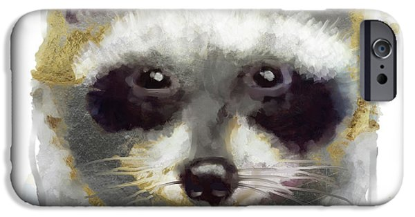 Golden Forest Raccoon  IPhone 6s Case