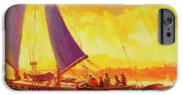 Sailboat iPhone 6s Case - Golden Opportunity by Steve Henderson