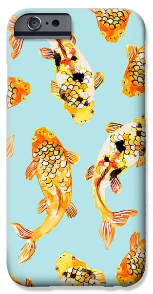 Goldfish IPhone 6s Case by Uma Gokhale
