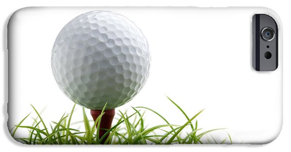Golfball IPhone Case by Kati Molin