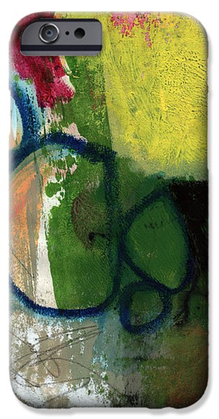 Contemporary iPhone 6s Case - Good Day-abstract Painting By Linda Woods by Linda Woods