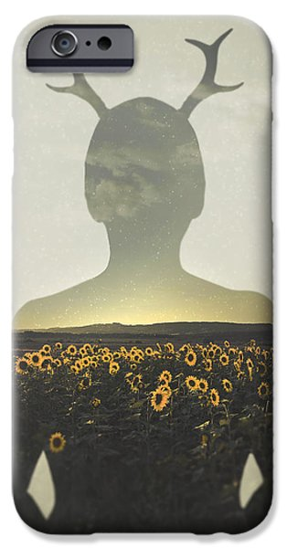 Sunflower iPhone 6s Case - Goodbye Summer by Art of Invi