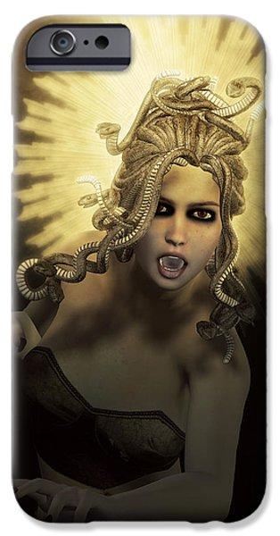Gorgon Medusa IPhone 6s Case by Joaquin Abella