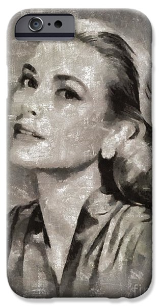 Grace Kelly By Mary Bassett IPhone 6s Case