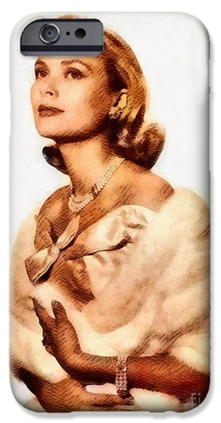 Grace Kelly, Vintage Actress By John Springfield IPhone 6s Case