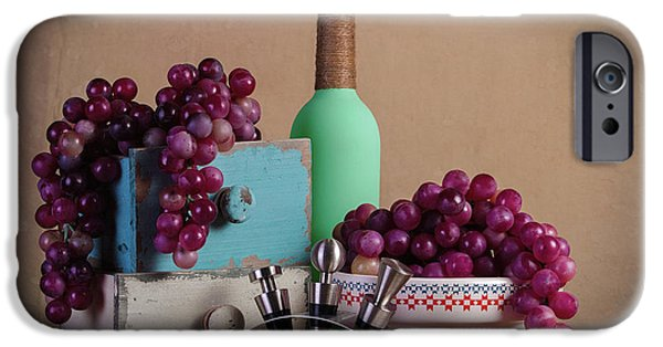 Grapes With Wine Stoppers IPhone 6s Case by Tom Mc Nemar