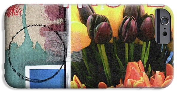 Tulip iPhone 6s Case - Gratitude- Art By Linda Woods by Linda Woods