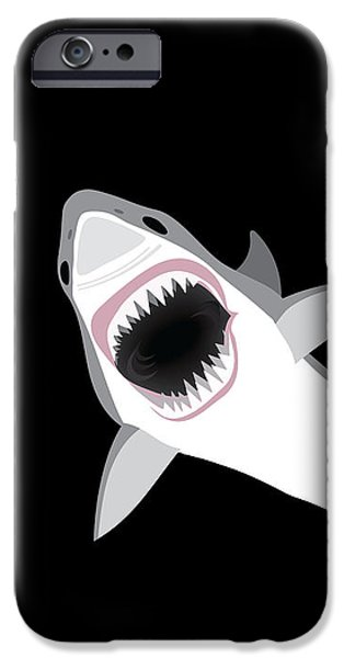 Great White Shark IPhone 6s Case by Antique Images