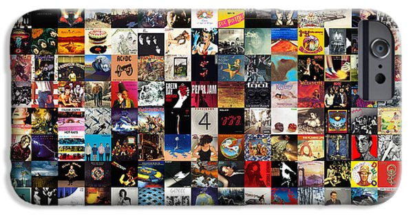 Rock And Roll iPhone 6s Case - Greatest Album Covers Of All Time by Zapista