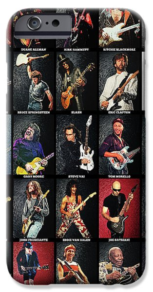 Greatest Guitarists Of All Time IPhone 6s Case