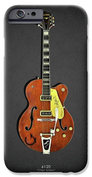 Guitar iPhone 6s Case - Gretsch 6120 1956 by Mark Rogan
