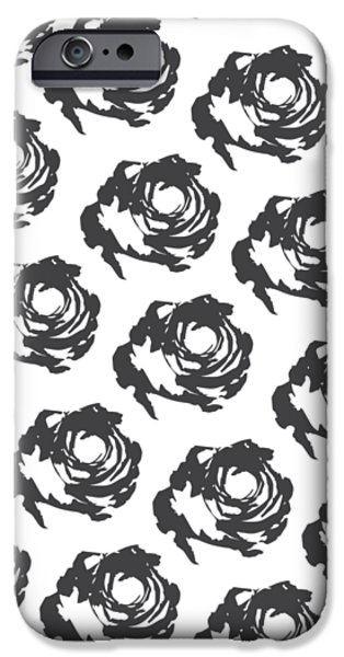 Grey Roses IPhone 6s Case by Cortney Herron