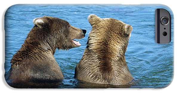 Grizzly Bear Talk IPhone 6s Case