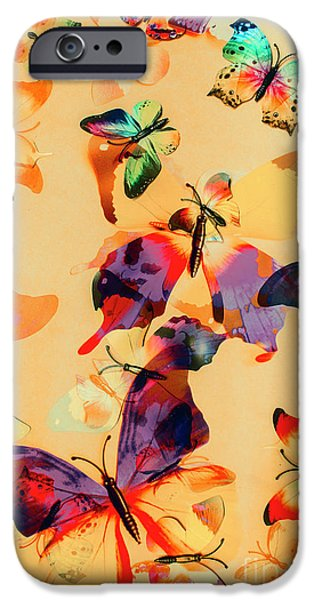 Group Of Butterflies With Colorful Wings IPhone 6s Case